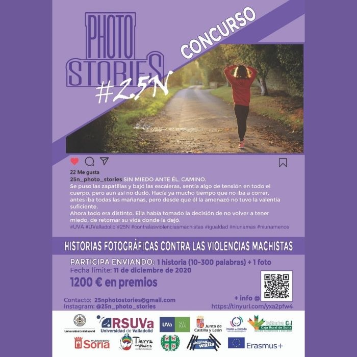 CONCURSO DE FOTOGRAFÍA PHOTO STORIES#25N